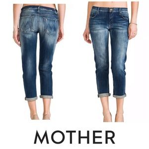 Mother the dropout jeans 26 tequila truth blue